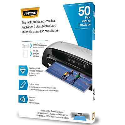 Fellowes Thermal Laminating Pouches, Letter, 3 5744301