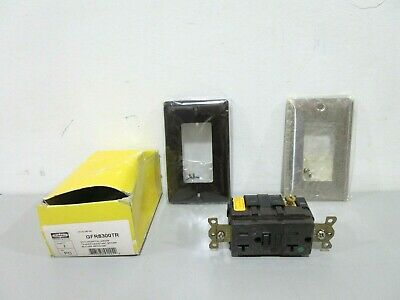 New Hubbell GFR8300TR Receptacle Outlet Kit