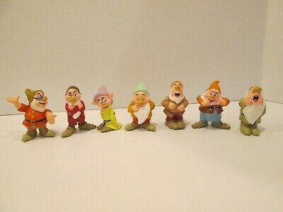 "Disney Snow White The 7 Dwarfs 2.5"" PVC Figures"