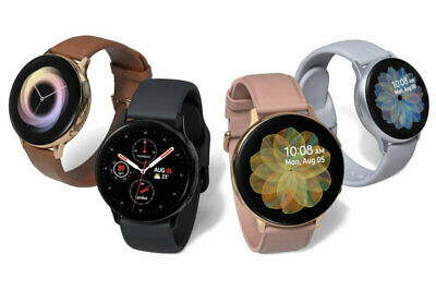 Samsung Galaxy Watch Active 2 SM-R825 40mm Stainless Steel Case Black A Stock