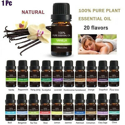 10ml Pure Natural Flower Essential Oil For Aromatherapy Essential Oil Diffuser
