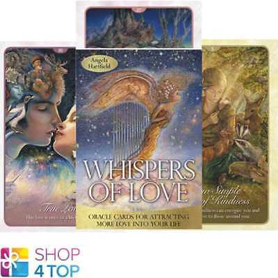 Whispers Of Love Oracle Cards Deck Esoteric Fortune Telling Blue Angel New