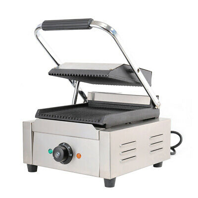 Panini Grilled Meat Toastie Grill Iron Press 1800W Sandwich Toaster Waffle Maker