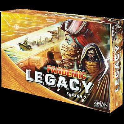 PANDEMIC: LEGACY (Season 2, Yellow Edition, Z-MAN) BOARD GAME *New/Sealed*