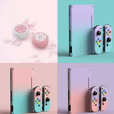 Fashion Gradient Color Protective Case Rocker Caps for Nintendo Switch Joy-Con