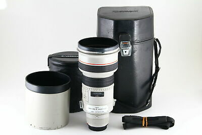 [B V.Good] Canon EF 300mm f/2.8 L USM AF Lens w/ Case, Hood From JAPAN 5837