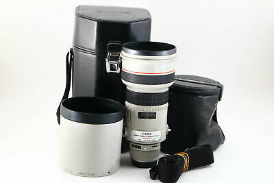 [B V.Good] Canon EF 300mm f/2.8 L USM AF Lens w/ Trunk, Hood From JAPAN 6059
