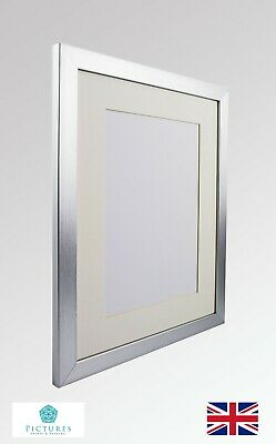 Silver Photo Picture Poster Panoramic 28m Frame Off White MOUNT 3x3-11x34 A6-A3