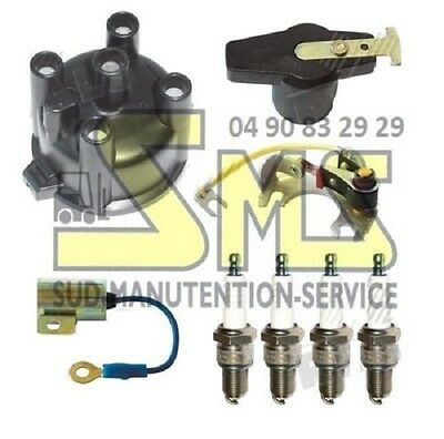 Kit Ignition D5023 Toyota Engine 4P after 11/83 Plug Head Rotor Screw Capacitor