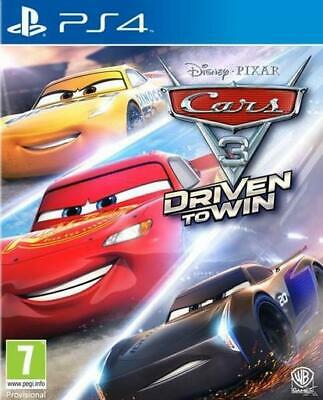 Cars 3 Driven to Win | PS4 Playstation 4 | NEU & OVP
