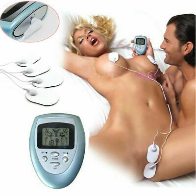Fat Burner 4 Pad Full Body Massager Therapy Slimming Electric Muscle Pulse Relax
