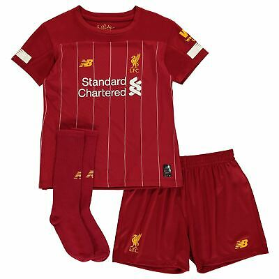 New Balance Liverpool Domicile Mini Kit 2019 2020 Enfant Rouge Poivre Football
