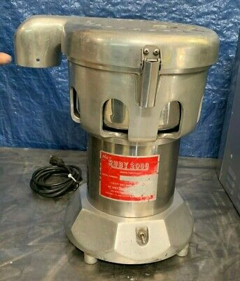 The Ruby 2000 Commercial Juicer