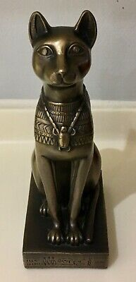 Veronese Egyptian Bastet Cat Statue - Signed and Dated