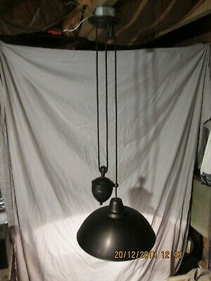 Hudson Valley Counterbalance Weight Oil Bronze Color Rise And Fall Pendant Light