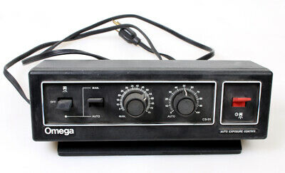 Omega Enlarger Auto Exposure Control Darkroom Timer