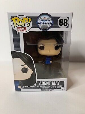 Funko Pop Marvel Agents Of S.h.i.e.l.d. Agent May #88 Vaulted Retired Rare