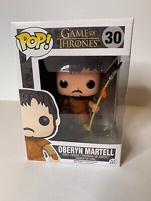 Funko Pop Game Of Thrones Oberyn Martell #30 Vaulted Retired Rare Htf Edition 5