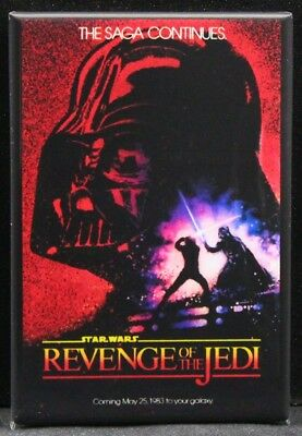 Star Wars Return of the Jedi High Quality Metal Magnet 3 x 4 inches 9523