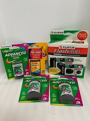 Lot Fuji film Advanced Nexia Kodak Advantix Fuji Cameras Expired Old Stock