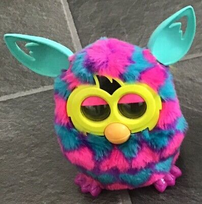 HASBRO OFFICIAL FURBY RED ORANGE YELLOW BLUE PURPLE PINK INTERACTIVE TOY PET
