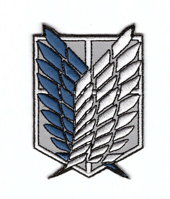 Attack on Titan Survey Corps Costume Anime Iron on Patch