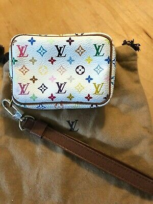 Louis Vuitton Multi Color Monogram Pouch & Strap