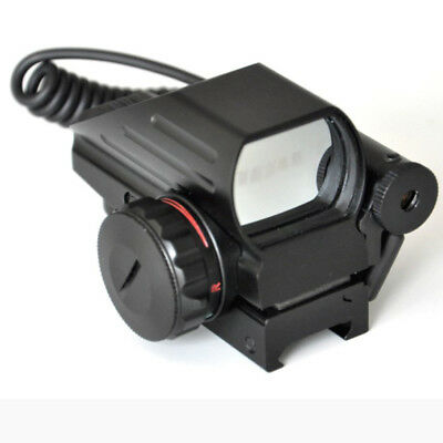 Holographic Red/Green Reflex Sight With Red Dot Laser Scope Picatinny Rail Mount