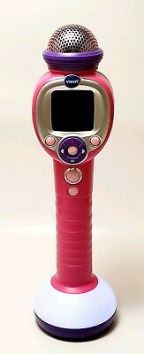 VTech Kidi Star Music Magic Microphone Color Pink Kids Entertainment Electronic