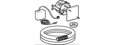 Kit for Mounting Device Electronic Toilet Geberit 115.861.00.1