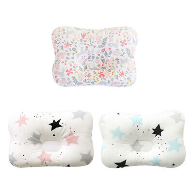 Newborn Baby Infant Prevent Flat Head Neck Syndrome Support Pillow Breathable AU
