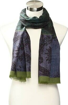 Robert Graham Brand New without tags OSFA Gossan Kashmir Scarf made in Italy