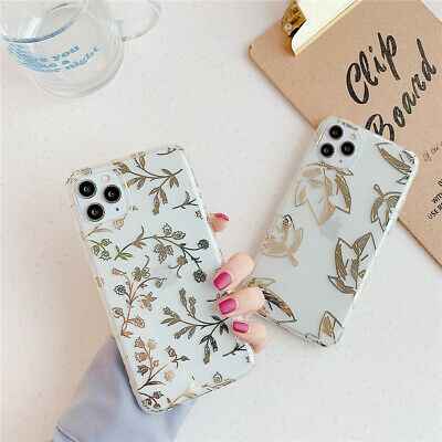 Plating Bling Clear Soft TPU Case Cover For iPhone 11 Pro Max XS XR X 8 7 Plus