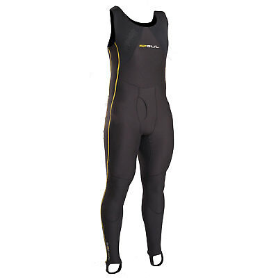 Gul Evotherm Long John Thermal Rash 2020 - Noir / Jaune