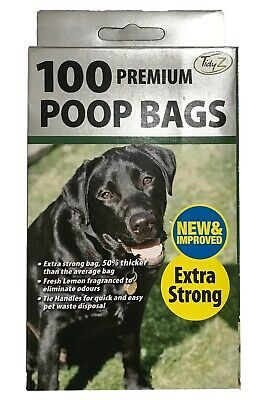 Doggy Poo Bags Premium Fragranced  Extra Strong Bags