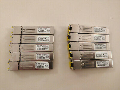Genuine HP SFP 1Gb RJ-45 Transceiver Module 453156-001