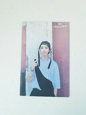 """K-POP STRAY KIDS Mini Album """"Cle : LEVANTER"""" Limited Official HAN Photocard"""