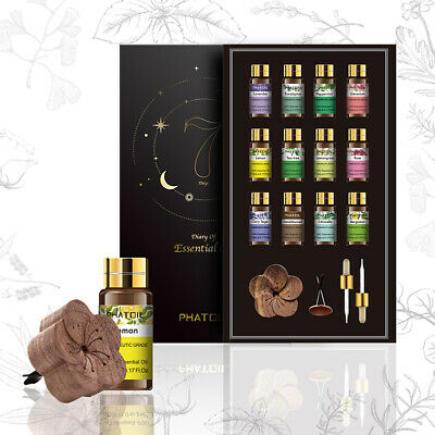 12Pack Essential Oil Set 100% Pure Natural Aroma Therapeutic Grade Oils Lot US