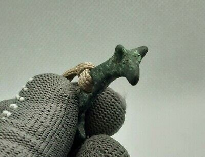 RARE Ancient Bronze Scythian Pendant Amulet ( Animal styles ) 7-3th cent.BC #262