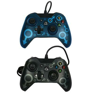 USB Wired Game Controller Gamepad Joystick for Xbox One Slim Controller S#E