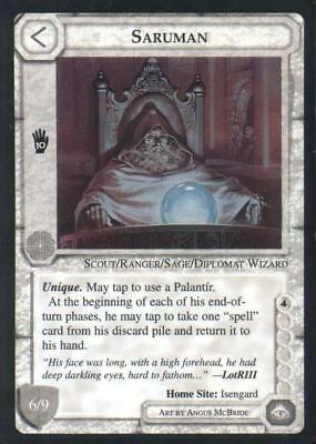 Ungraded MECCG: Aragorn II Blue Border The Wizards Blue Border Unlimited Mid