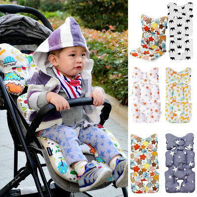 Newborn Baby Car Seat Stroller Cushion Pad Liner Pillow Head Body Support Mat