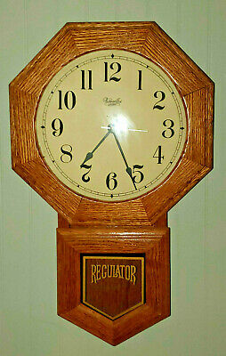 VERSAILLES Old School House Battery Operated Clock - Works