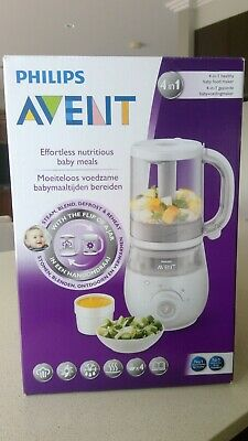 Philips Avent 4 in 1 Healthy Baby Food Maker - Steam, Blend, Defrost & Reheat