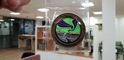 Very Rare Northern Lights Aurora Borealis Sunburst Geocoins 15 Sets Only