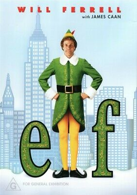 Elf Will Ferrell DVD (2005)