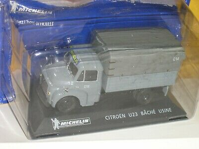 Michelin Citroen U23 Bache Usine Voiture De Collection 1/43