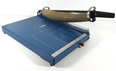 Dahle 565 Guillotine Paper Cutter Professional Heavy Duty Vintage 1988 #A064