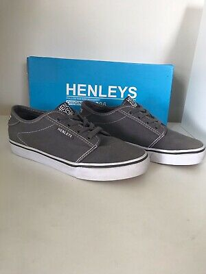 Henely's Addison Men UK7/EUR41 Charcoal/White
