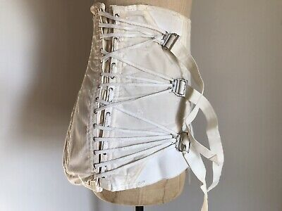 Buckle and Straps Binding Corset Girdle Vintage Large - XL